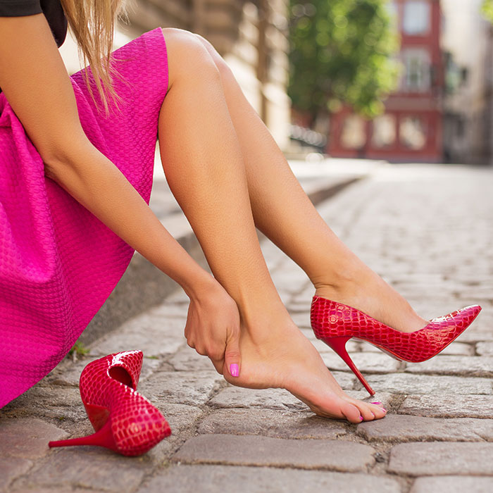 Treating Painful Heels and Finding Foot Relief